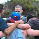 Shalom House group hug