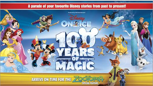 disney on ice celebrates 100 years with 98five, win tickets