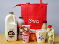 brownes dairy prize pack 12 days of christmas 98five