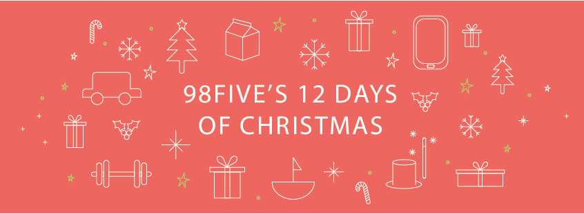 98five's 12 days of christmas