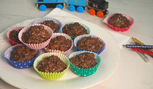 healthy chocolate crackle