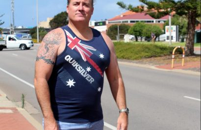 geraldton mayor isn't happy about the boardies ban at australian citizenship ceremonies.