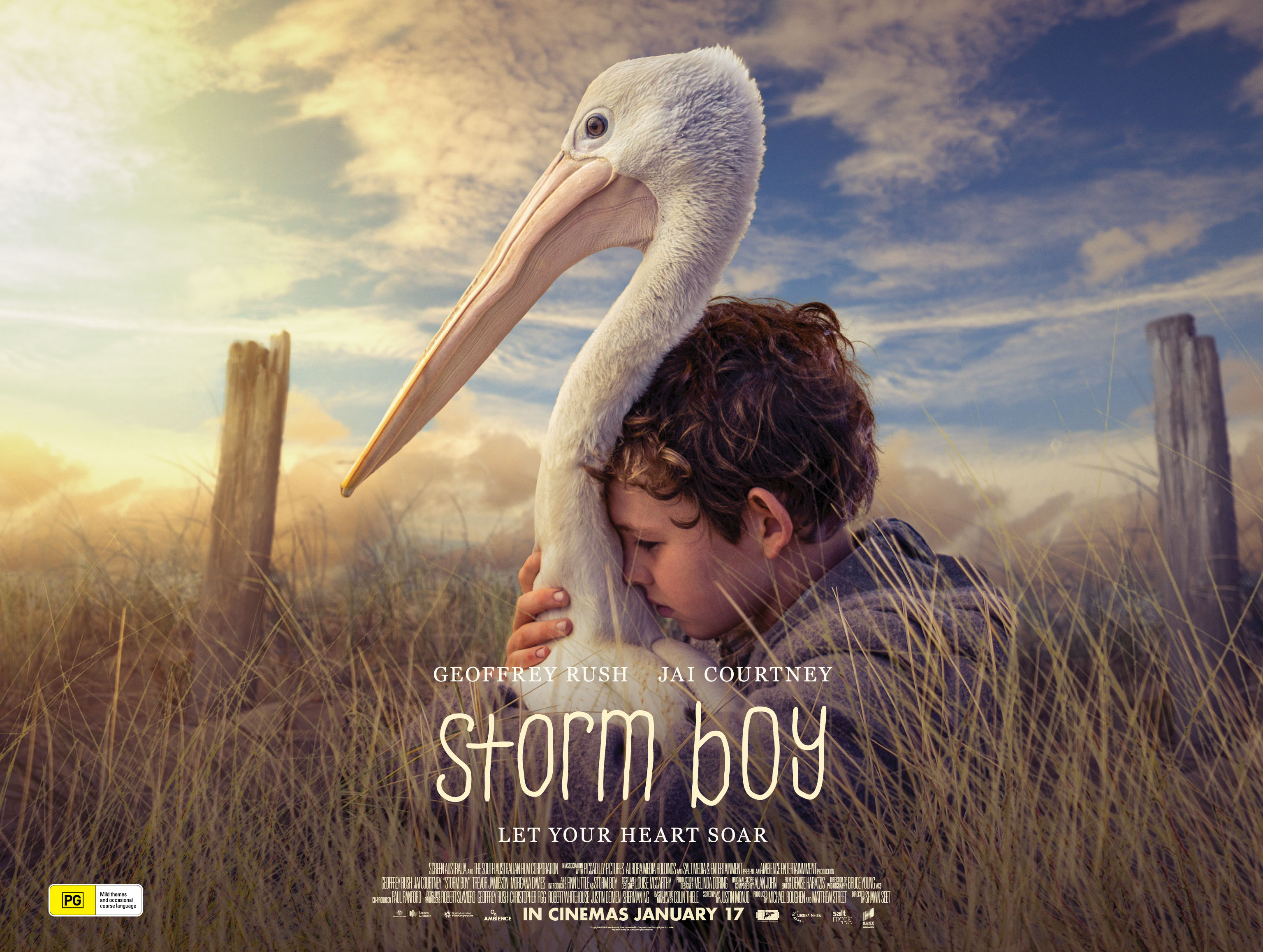 win: storm boy the movie prize packs and family passes