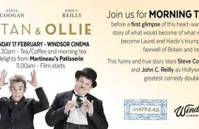 Win: stan & ollie movie double passes to exclusive screening with morning tea