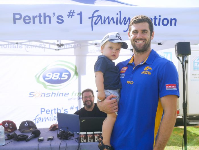 Jack Darling and Max at the Sunshine Beach Run 2019