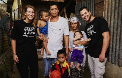 Why did Mel & Jeziel visit the Philipines? Sponsor a Village day with 98five and Compassion