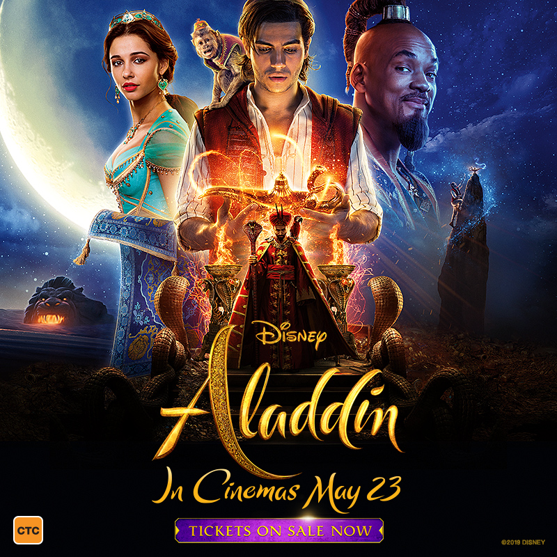 Win on 98five: Aladdin the movie, in cinemas May 23