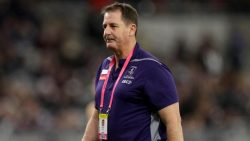 Ross Lyon is sacked from the Fremantle Dockers