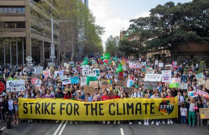 Aussies students Strike for the climate