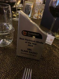 SBL Slam Radio Show awarded 'Best Electronic Media of the year award 2019'