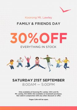 Koorong 30% this saturday