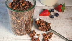 Chocolate Granola by Sue Joy