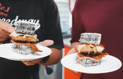 We saw it, we made it, we ate: The Lamington Burger
