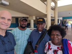 Peter Hallifax and some PNG locals
