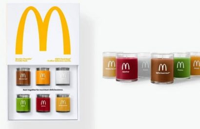 "Maccas are releasing "" Quarter Pounder "" scented candles"