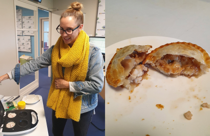Pie Day Friday: Chicken, cheese, peanut butter and jam