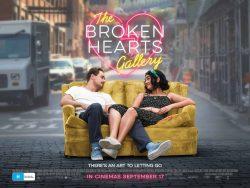 WIN 'The Broken Hearts Gallery' double cinema passes