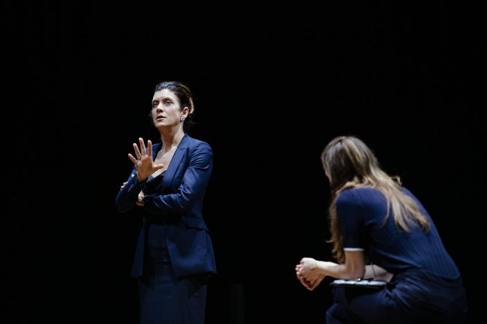 Kate Walsh on stage Fremantle Theatre Company's production of 'The Other Place'
