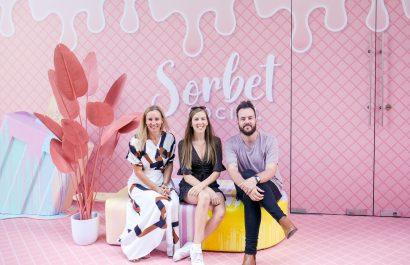 Kirste and Dan visit Sorbet Social in Raine Square, Perth