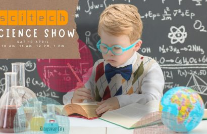 FREE Scitech show this weekend