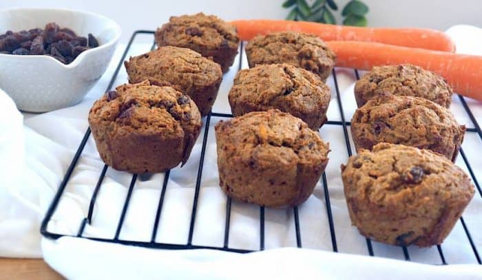 Sue Joy's Carrot Muffin Recipe