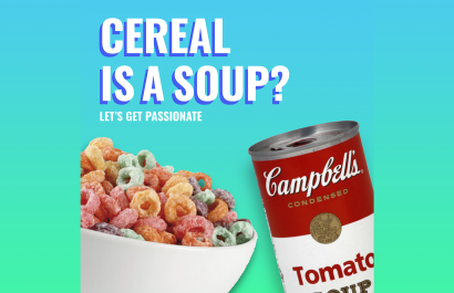 Let's Get Passionate: cereal IS a soup