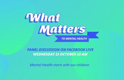 What Matters to Mental Health Live Panel Discussion - Wednesday 13th October 10am
